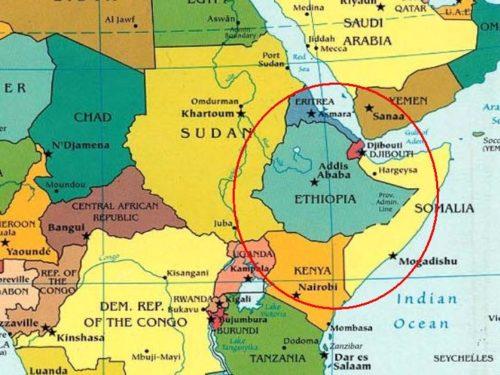 Cartina Africa In Italiano.The Coronavirus Blocks The Health Missions Of Gsi Italia Gsi Italia Onlus